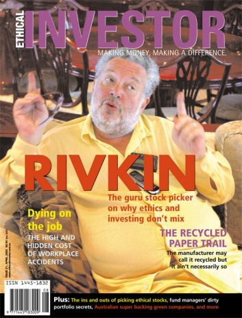 Ethical Investor cover