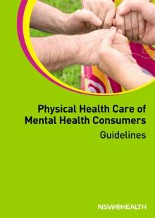 Physical Healthcare of Mental Health Consumers Guidelines document cover