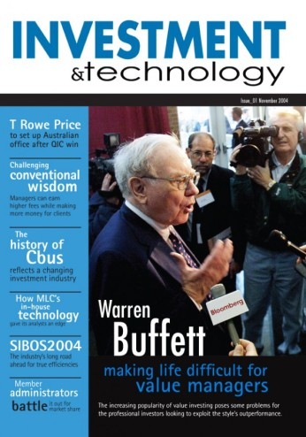 Investment & Technology magazine - cover