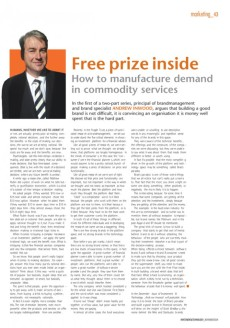 Investment & Technology magazine - opinion page
