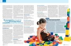 Money magazine spread - give your kids $1million-2