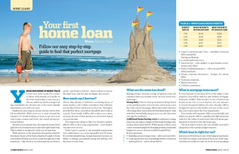 Money magazine westpac booklet page 2
