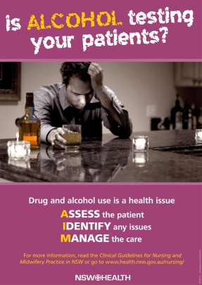 AIM Drugs Testing Patients - poster 2