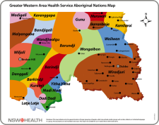 Aboriginal Nations GWAHS map