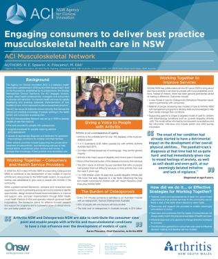 ACI Juvenile Arthritis Conference Poster