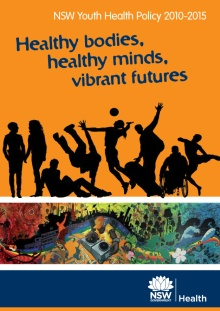 Youth Health Policy report cover