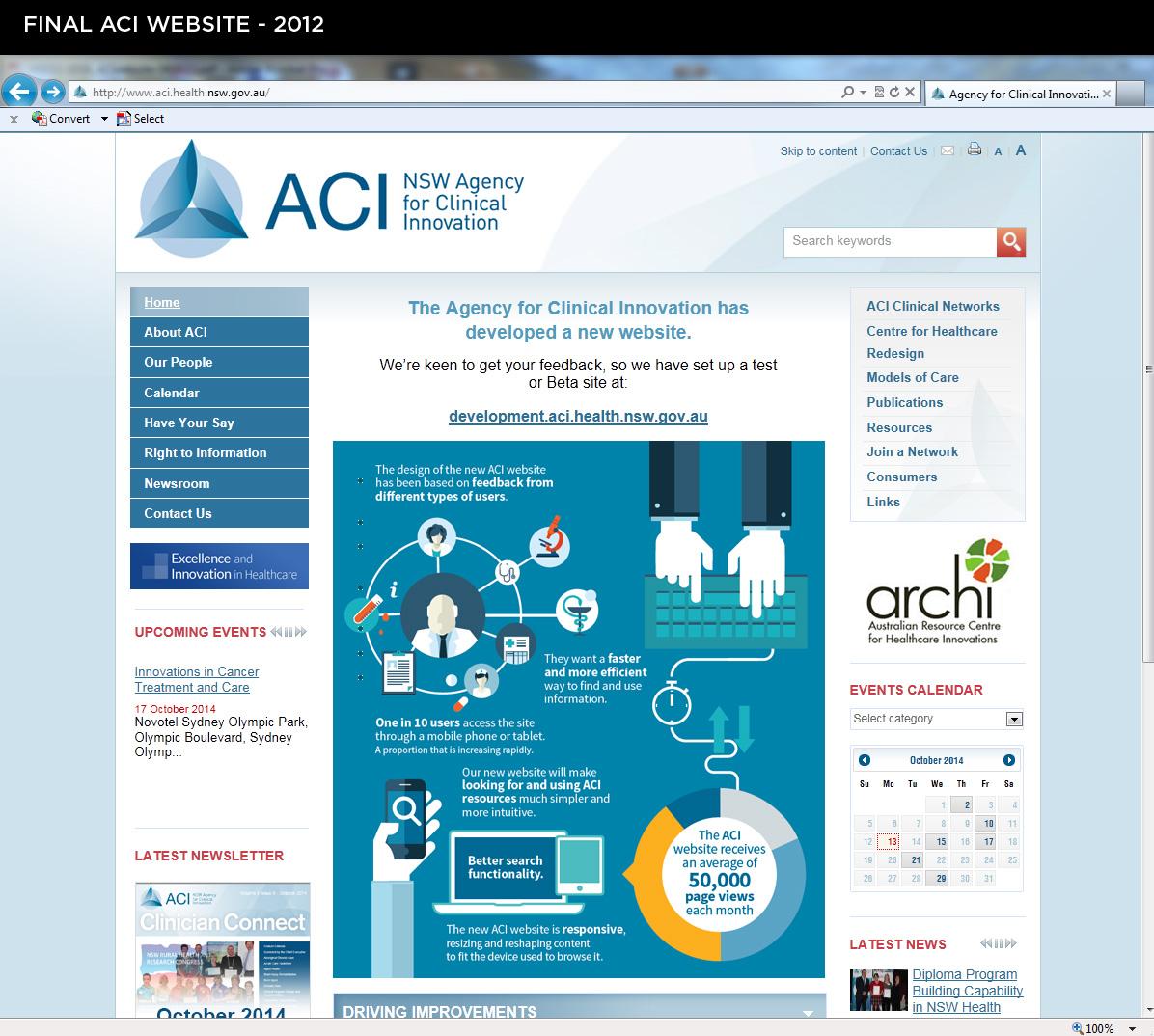 ACI Website - final 2012