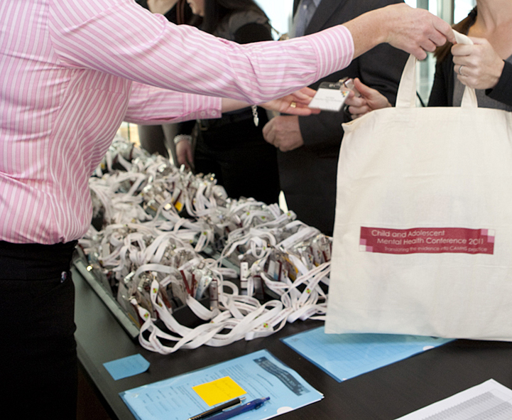 CAMHS conference merchandise