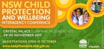 Keep them Safe conference save date flyer