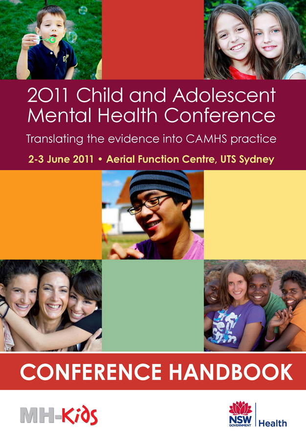 CAMHS conference handbook cover