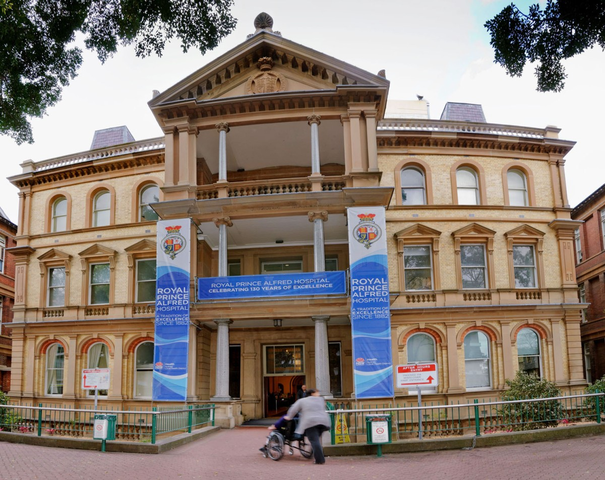 Royal Prince Alfred Hospital 130 years