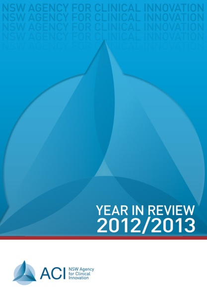 ACI Year in Review 2013 - cover