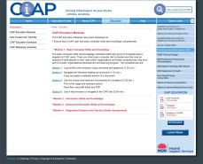 CIAP text page