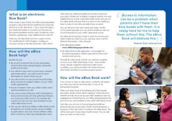 eBlueBook DL brochure inside