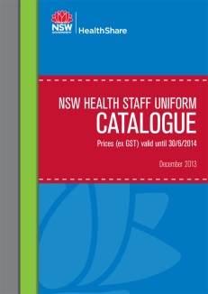 NSW Health Staff Uniform Catalogue cover