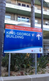 KGV wayfinding sign