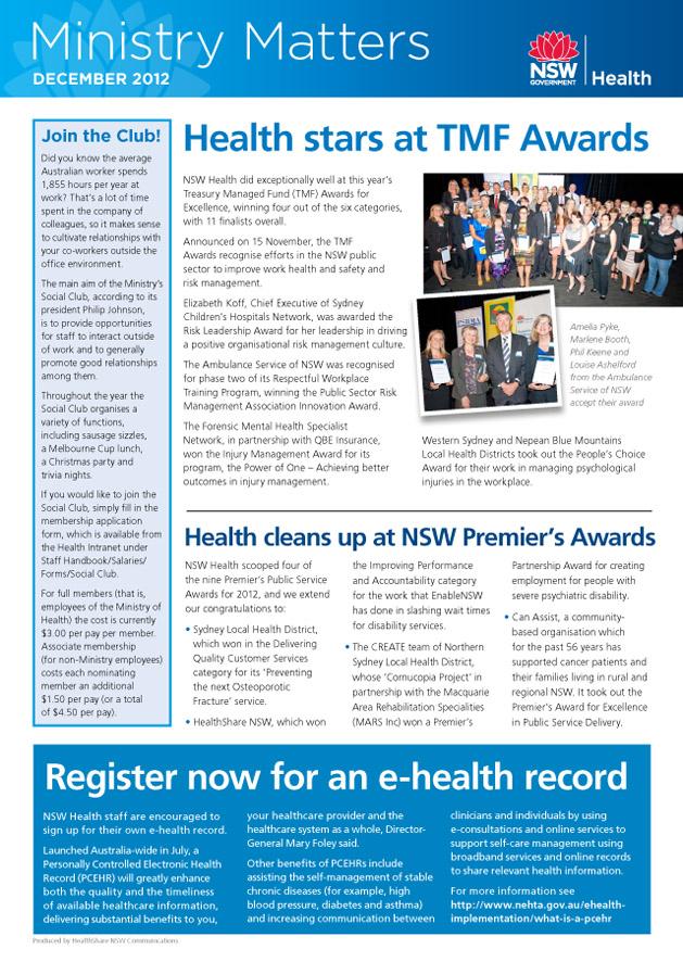 Ministry Matters newsletter December 2012 pg3