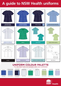 Uniform Catalogue information poster