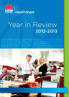HealthShare Year In Review 2013 cover