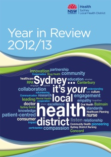 SLHD Year in Review 2013 - cover