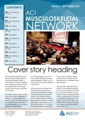 ACI MSN newsletter cover
