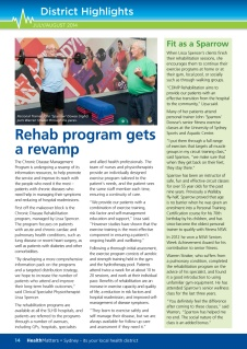 Rehab program gets a revamp
