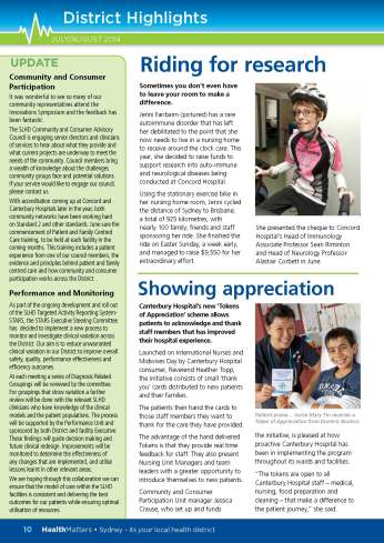 SLHD HealthMatters July-August Issue32 pg10