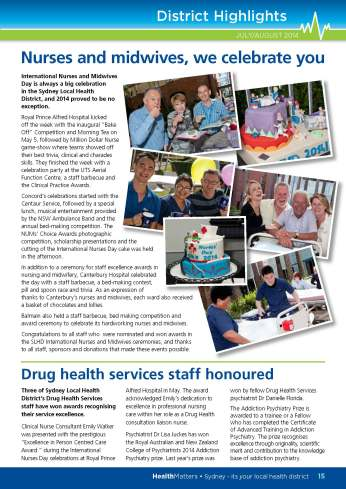 SLHD HealthMatters July-August Issue32 pg15