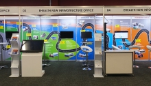 Information Services booth, Expo 2016