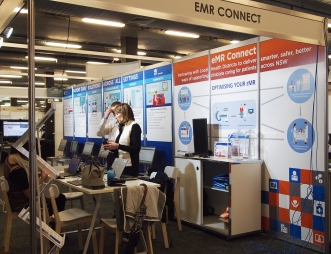 EMR Connect booth at Expo 2016